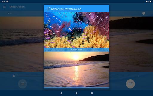 Relax Ocean - Nature sounds: sleep & meditation screenshot 14
