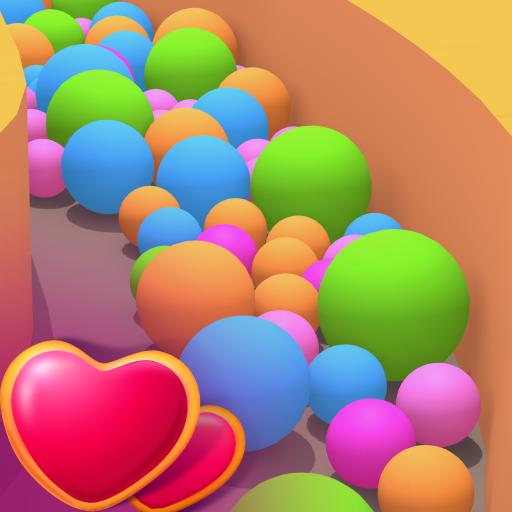 Sand Balls - Puzzle Game आइकन