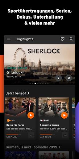 Zattoo - TV Streaming App screenshot 2