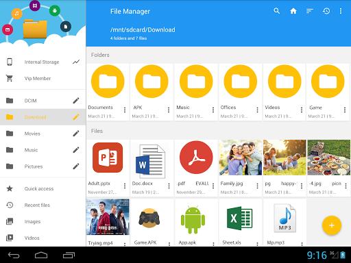 File Manager 8 تصوير الشاشة