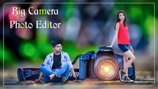 DSLR Photo Editor : Big Camera Photo Maker screenshot 1