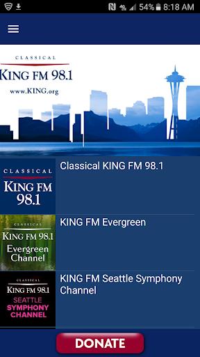 Classical KING FM screenshot 1