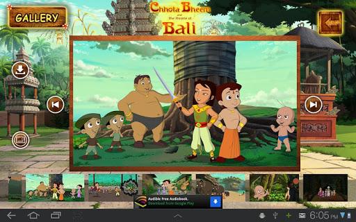 Bali Movie App - Chhota Bheem 12 تصوير الشاشة