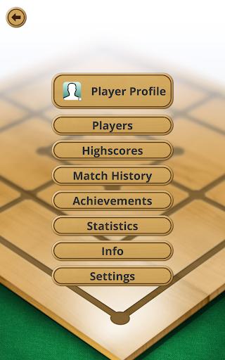 Nine men's Morris - Mills - Free online board game 15 تصوير الشاشة