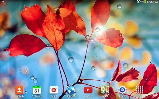 Rains Live Wallpaper 4 تصوير الشاشة