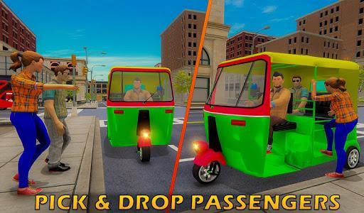 Tuk Tuk Driver Offroad Drive: Transport Passenger screenshot 9