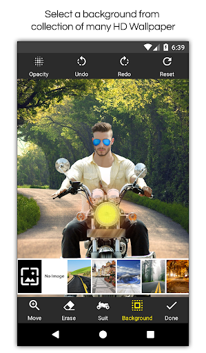 Man Bike Rider Photo Editor screenshot 6