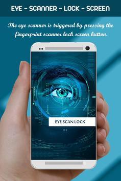 Eye Scanner Lock Screen Prank screenshot 3