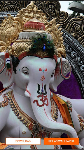 Ganpati Wallpaper - Ganesha, HD screenshot 5
