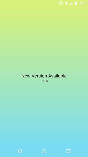 New Version Available 4 تصوير الشاشة