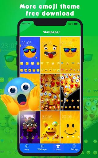 New Emoji 2020 - Wallpaper&GIF&Sticker for FREE 3 تصوير الشاشة