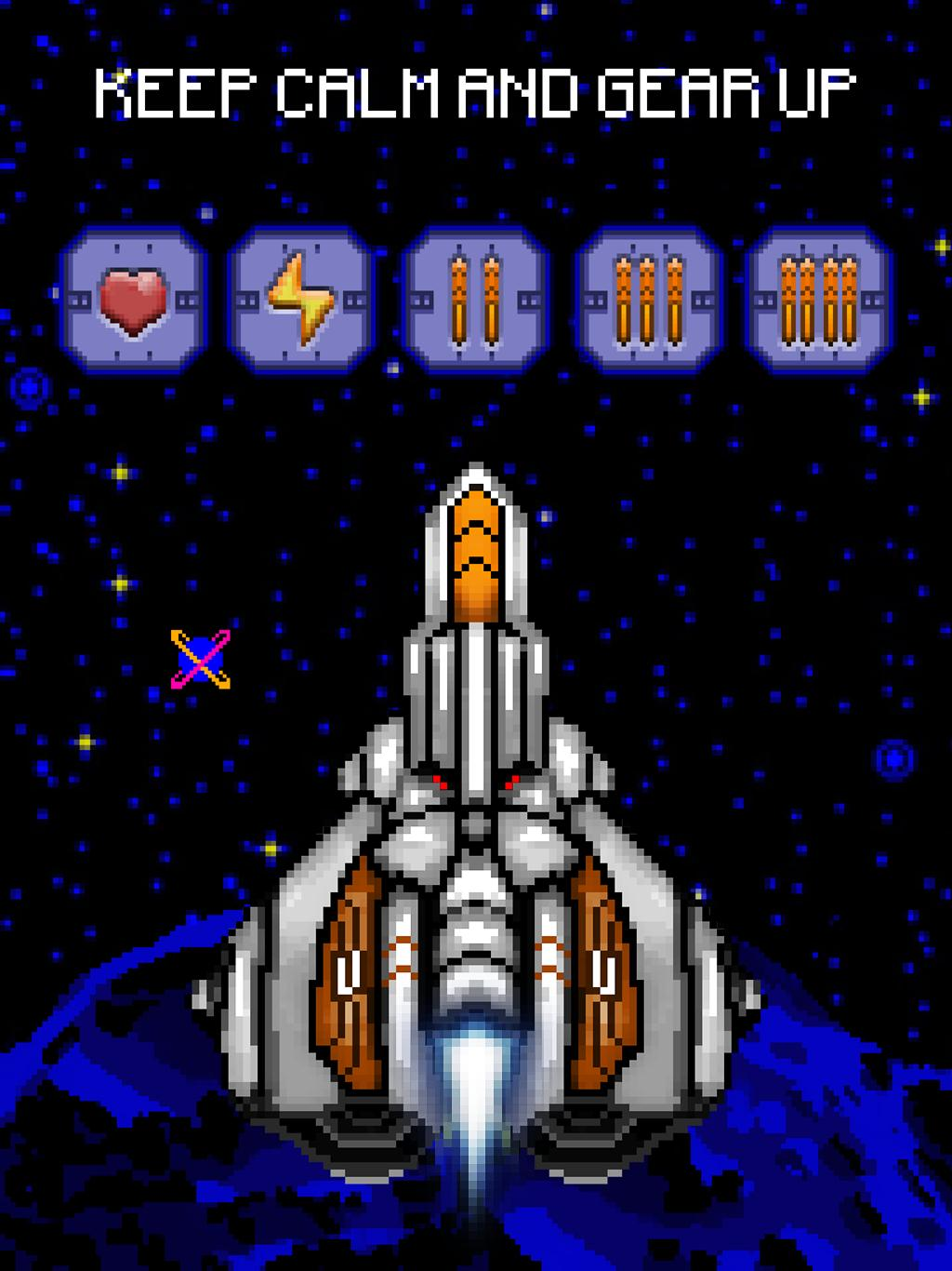 Space Assault: Space shooter 4 تصوير الشاشة