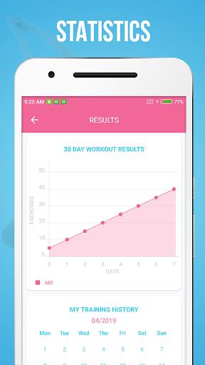 Abs Workout screenshot 4
