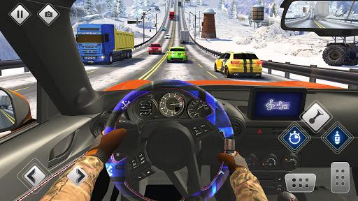الطريق السريع القيادة سيارة سباق لعبه سيارة ألعاب 3 تصوير الشاشة