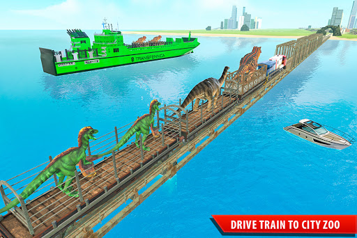 Train Simulator 2021: Rescue Dinosaur Transport screenshot 6