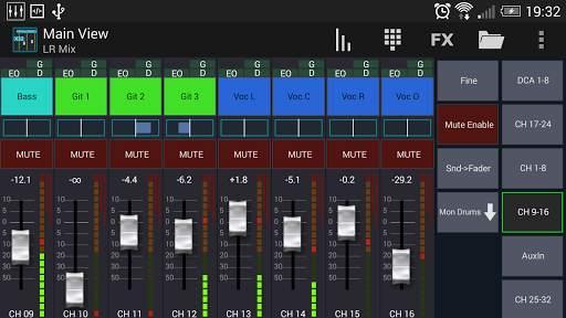 Mixing Station XM32 screenshot 1