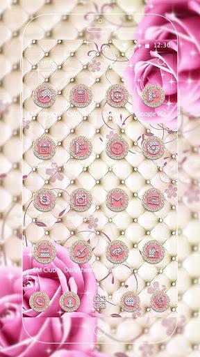 Pink Diamond Rose Theme screenshot 4