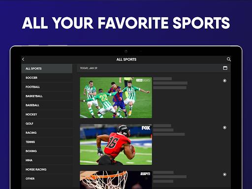 fuboTV: Watch Live Sports, TV Shows, Movies & News 11 تصوير الشاشة
