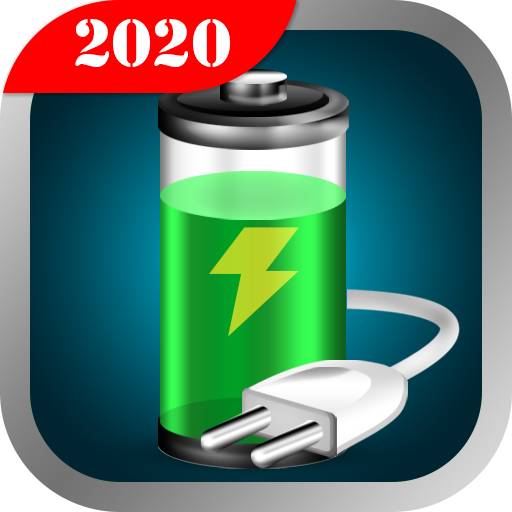 Battery Saver, Fast Charging & Phone Cleaner أيقونة