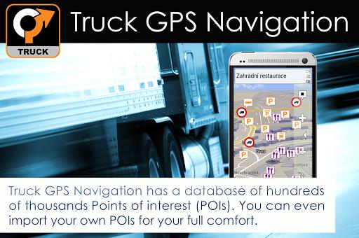 Truck GPS Navigation 13 تصوير الشاشة