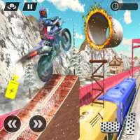 Tricky Bike Stunt Racing Impossible on 9Apps