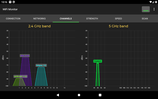 WiFi Monitor: analyzer of WiFi networks screenshot 8
