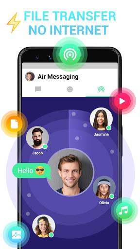 Messenger - Messages, Texting, Free Messenger SMS 4 تصوير الشاشة