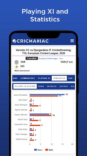 CricManiac - Live Cricket Scores screenshot 6