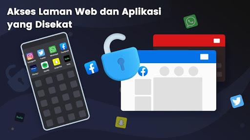 3X VPN - Melayari dengan selamat screenshot 3