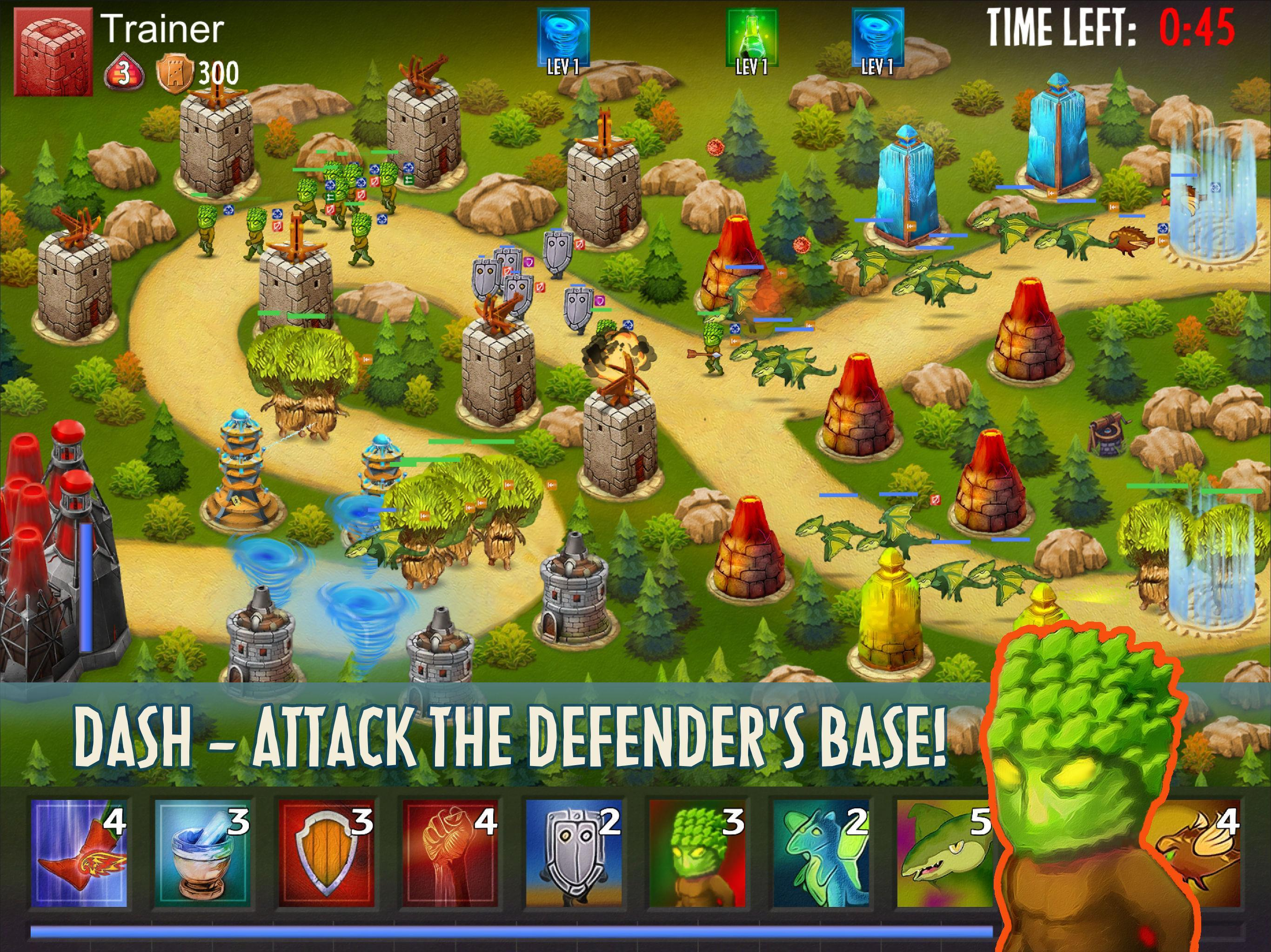 Dash or Defend 5 تصوير الشاشة