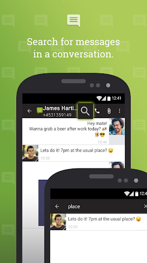 SMS From Android 4.4 screenshot 3