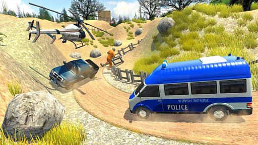 US Police Car Chase Driver:Free Simulation games screenshot 1
