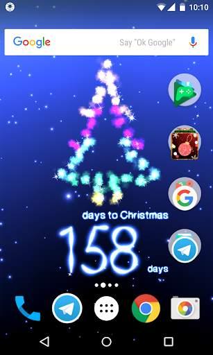 Christmas Countdown with Carols screenshot 1