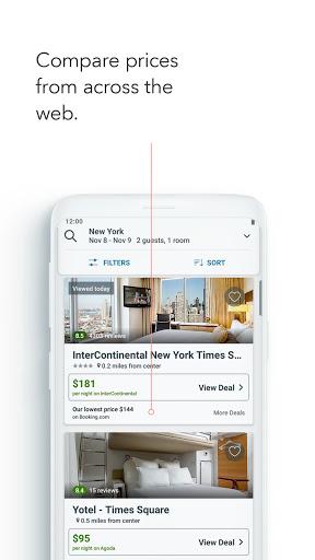 trivago: Compare hotel prices screenshot 4