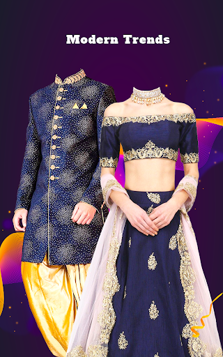 Couple Tradition Photo Suits - Traditional Dresses screenshot 8
