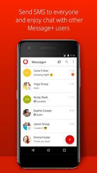 Vodafone Call  & Message  2 تصوير الشاشة