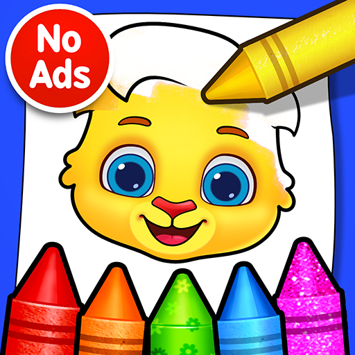 Coloring Games: Coloring Book, Painting, Glow Draw icon