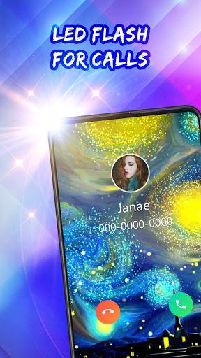 Color Call Flash- Call Screen, Color Phone Flash screenshot 5