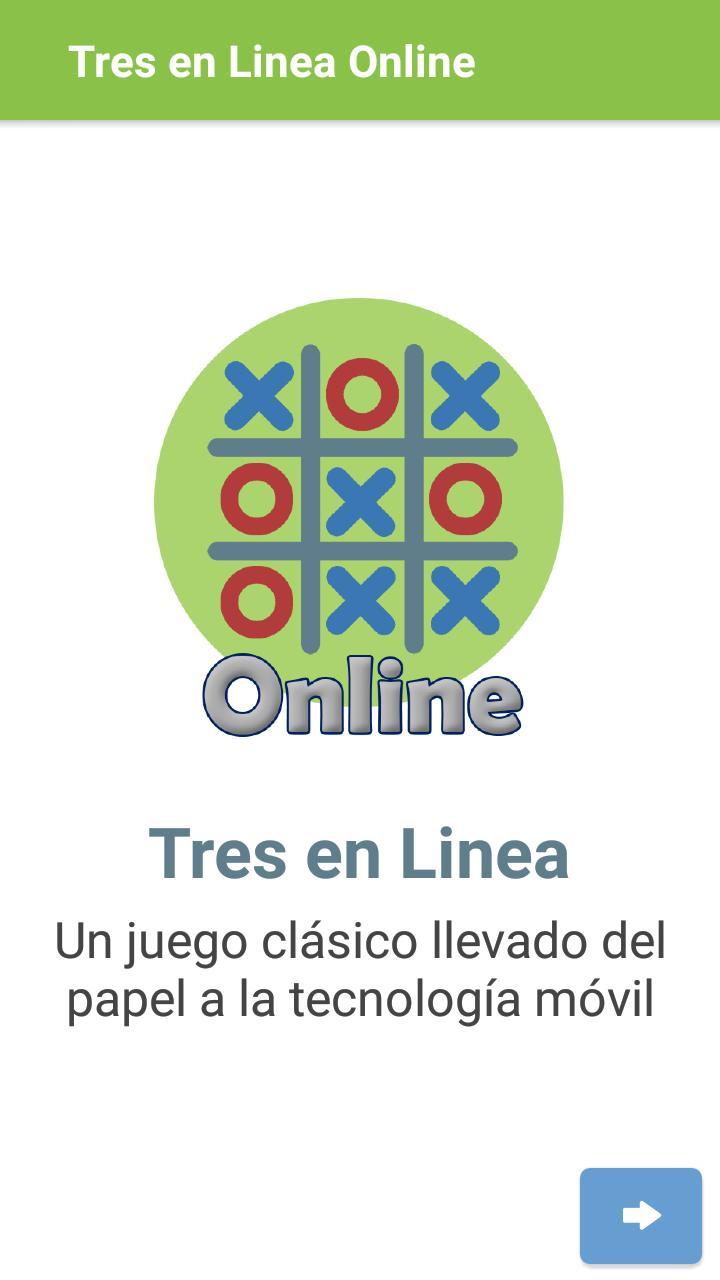 Tres en Linea Online screenshot 1