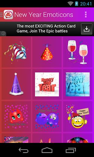 New Year Emoticons screenshot 3