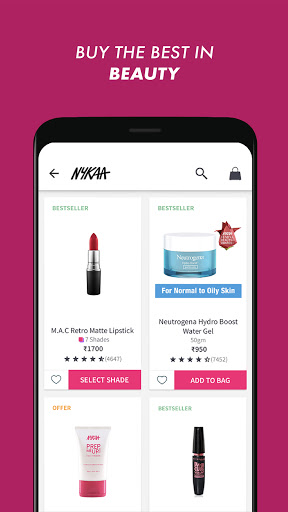 Nykaa: Beauty Shopping App. Buy Makeup & Cosmetics screenshot 4