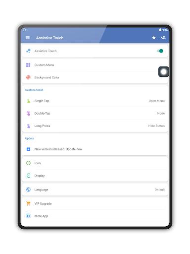 Assistive Touch para sa Android screenshot 9