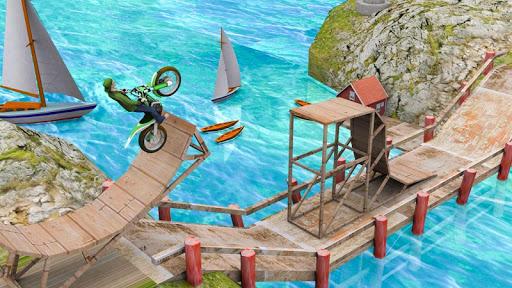 Stunt Bike Racing Game Trial Tricks Master screenshot 1