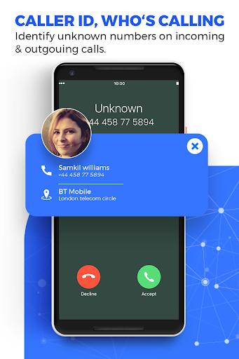 Caller ID Name Locator & Tracker, Spam blocking screenshot 4