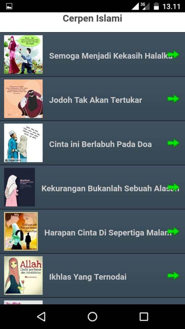 Cerpen Remaja Islami Offline screenshot 2