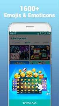 Kika Keyboard screenshot 1