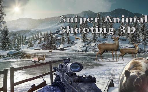 Sniper Animal Shooting 3D:Wild Animal Hunting Game screenshot 3