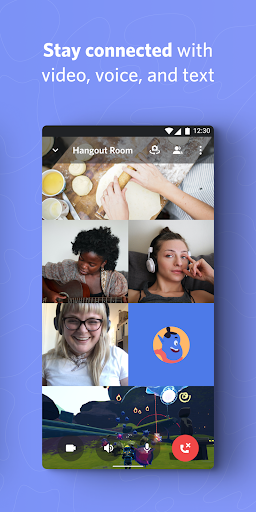 Discord - Talk, Video Chat & Hang Out with Friends 2 تصوير الشاشة
