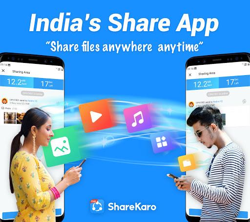 Share Karo Lite - Share & File Transfer, Shareit screenshot 1