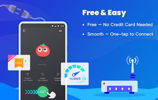 Free VPN Tomato | Fastest Free Hotspot VPN Proxy screenshot 2